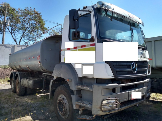 Mb Axor 3340 Ano 2008/2009 Tanque Pipa 20 Mil Litros