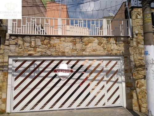Imagem 1 de 26 de Lindo Sobrado Com 3 Dormitorios E Churrasqueira!! - Sb00229 - 69514469