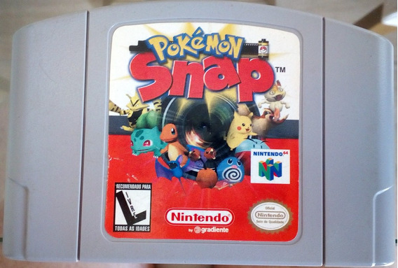 Cartucho Nintendo 64 N64 Pokemon Snap Original Nacional