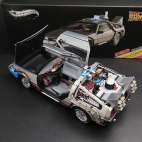 Miniatura Delorean Volta Para O Futuro Hot Wheels Elite 1/18