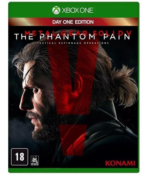 Metal Gear Solid V The Phantom Pain Xbox Midia Fisica