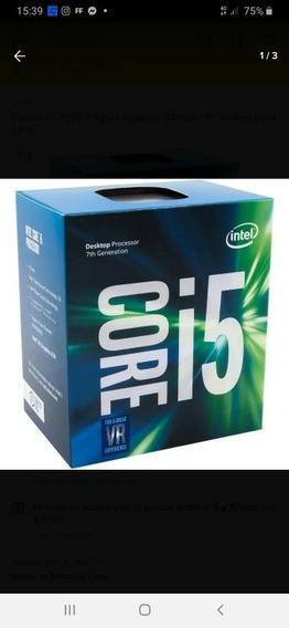 Vendo Combo Intel I5 7500+8gb Ram+gt 710