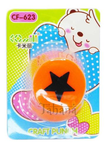 Imagen 1 de 3 de Troquel Figuras De 1 Pulgada Corazon Circulo Estrella