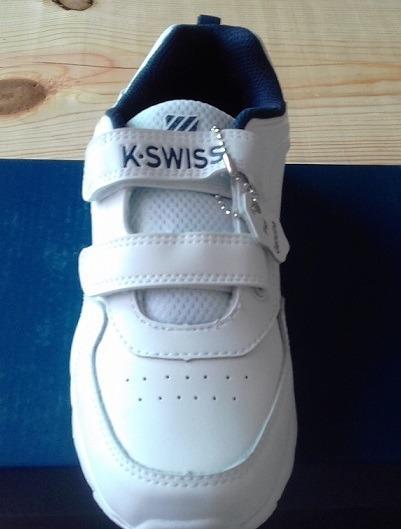 Tenis K-swiss Niño Piel 18 Y 22 Cm Disponibles