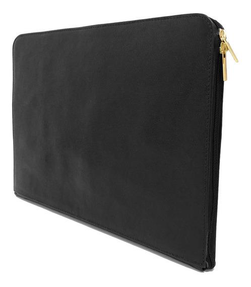Capa Case Slim Notebook 14 Polegadas Couro Café