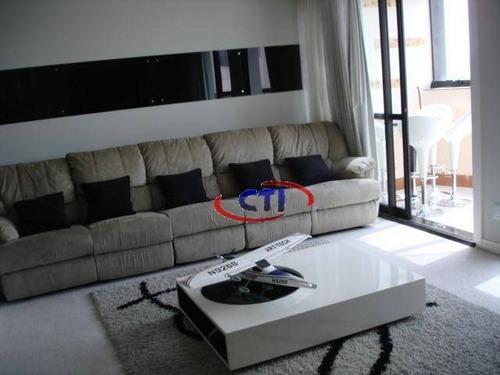 Imagem 1 de 22 de Lindo Apartamento Cobertura, Vila Caminho Do Mar, São Bernardo Do Campo. - Ap1378