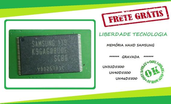 Kit 3 Peças - Memoria Nand Un32d5500 Un40d5500 Un46d5500