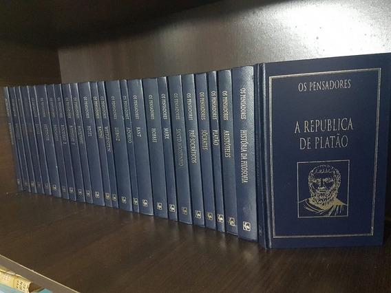 Coleção Completa Os Pensadores - 26 Volumes