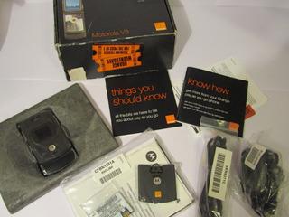 Motorola Razr V3 Black Nuevo Original Liberado 2007 Único!