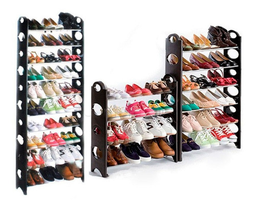 Zapatera  10 Niveles 30 Pares Rack Shoes