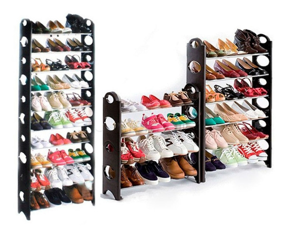Zapatera 10 Niveles 30 Pares Rack Shoes