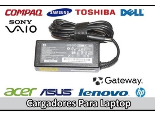 Cargadores Laptop Toshiba Dell Hp Acer Etc Originales Envios