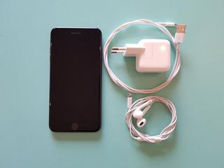 iPhone 7 Plus Preto 128gb Perfeito Estado