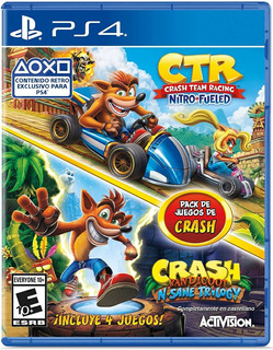Crash Team Racing Nitro Fueled + N.sane Trilogy Bundle / Ps4