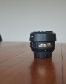 Lente Nikon 35mm F/1.8g Af-s Dx Autofoco +parasol +case