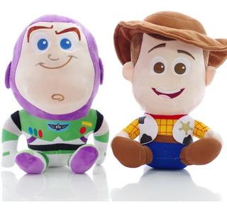 Set 2 Peluches Woody + Buzz Toy Story Envío Gratis