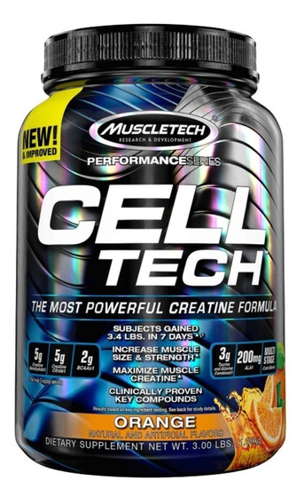 Cell Tech 3 Lb Creatina Muscletech Performance Serie