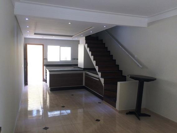 Sobrados Novíssimos, 80m², 02 Dormitórios, 01 Suíte E 01 Vg