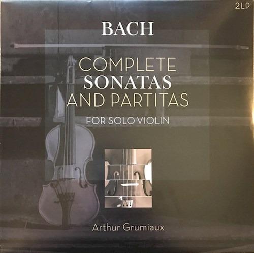 Complete Sonatas And Partitas/grumiaux - Bach (vinilo)