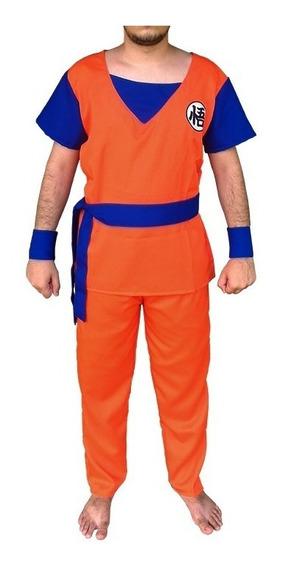 Cosplay Goku - Dragon Ball - Fantasia Infantil Frete Grátis