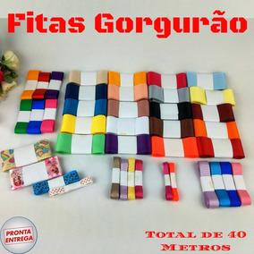 Kit Fitas De Gorgurão Para Laços Tiras - Gorgorão 40 M