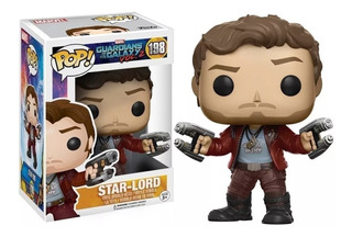 Funko Pop Guardianes De La Galaxia - Star Lord - Marvel 198