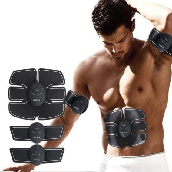 Cinto Tonificador Abdominal Estimulação Elétrica Muscular