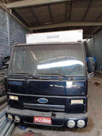 Ford Cargo Turbo 712 Bau De Aluminio 2012 Original