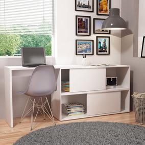 Mesa/escrivaninha De Computador Bc44 - Branco