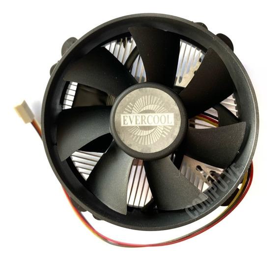 Fan Cooler Cpu Disipador Socket Lga775 Evercool Original