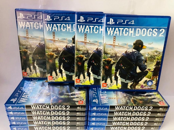 Watch Dogs 2 Ps4 Mídia Física Original Entrega Imediata