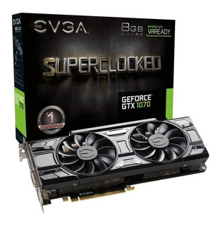 Tarjeta De Vídeo Evga Geforce Gtx 1070 Sc Gaming