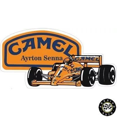 Adesivo Camel Ayrton Senna Lotus 99t F1 Formula 1 Carros