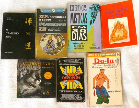 Conjunto De 8 Livros Zen Antigos Auto Ajuda