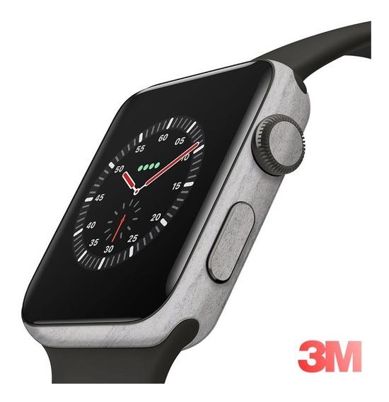 Skin Adesivo Proteção Concreto 3m Apple Watch 44m Series 4