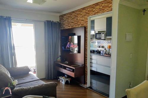Imagem 1 de 9 de Apartamento À Venda, 3 Quartos, 1 Suíte, 1 Vaga, Eldízia - Santo André/sp - 25847