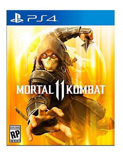Mortal Kombat 11 Juego  Play4 Original Play 4