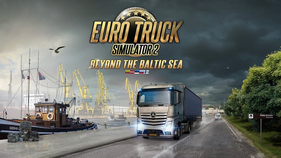 Euro Truck Simulator 2 - Beyond The Baltic Sea Dlc Steam Cd