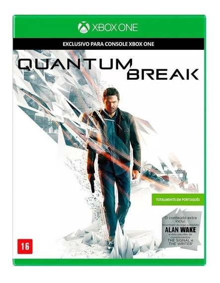 Quantum Break Xbox One Mídia Física Nacional Lacrado Rj