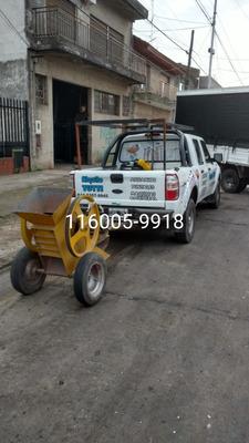 Alquiler Trituradora De Cascote Motopison Placa Compactadora