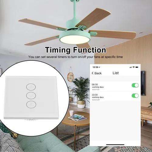 Interruptor De Ventilador  Inteligente Wifi