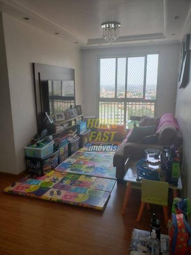 Apartamento Com 2 Dormitórios À Venda, 53 M² Por R$ 250.000,00 - Torres Tibagy - Guarulhos/sp - Ap2070