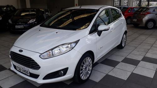 Ford Fiesta 1.6 Hatch Titanium Aut 55.000 Km 2015 Branco