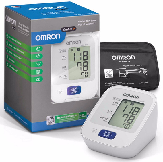 Tensiometro Digital Brazo Omron Automatico 7121 5 Años Gtía