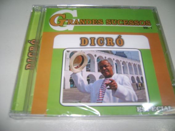 Cd Dicró Grandes Sucessos ! Original !