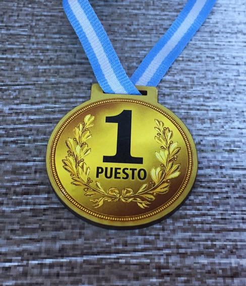 10 Medallas Trofeo Souvenir Mdf Cumple Infantil M6