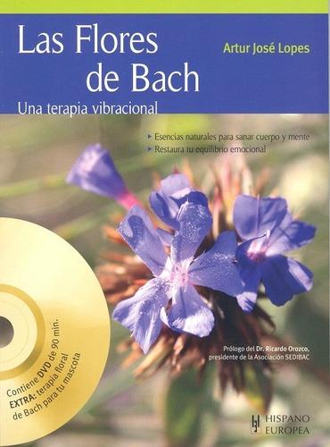 Imagen 1 de 3 de Las Flores De Bach (con Dvd), Lopes, Hispano Europea