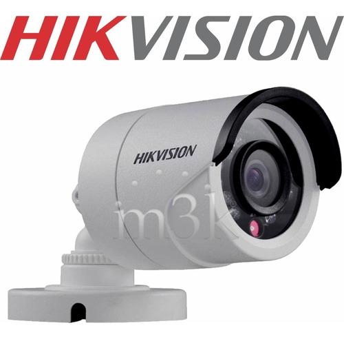 Camara Seguridad Hikvision 2mp Full Hd 1080p Ip 66 Exterior Vision Nocturna Bullet Cctv Hogar M3k