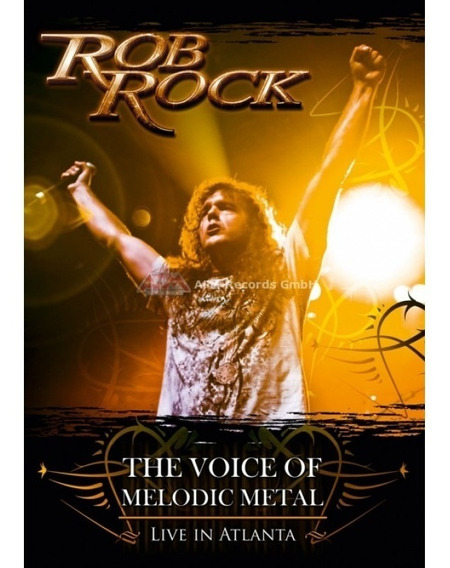Rob Rock - Live In Atlanta (dvd Lacrado - Novo)