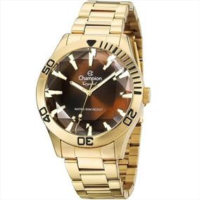 Relógio Champion Analógico Feminino Cn27214x Dourado